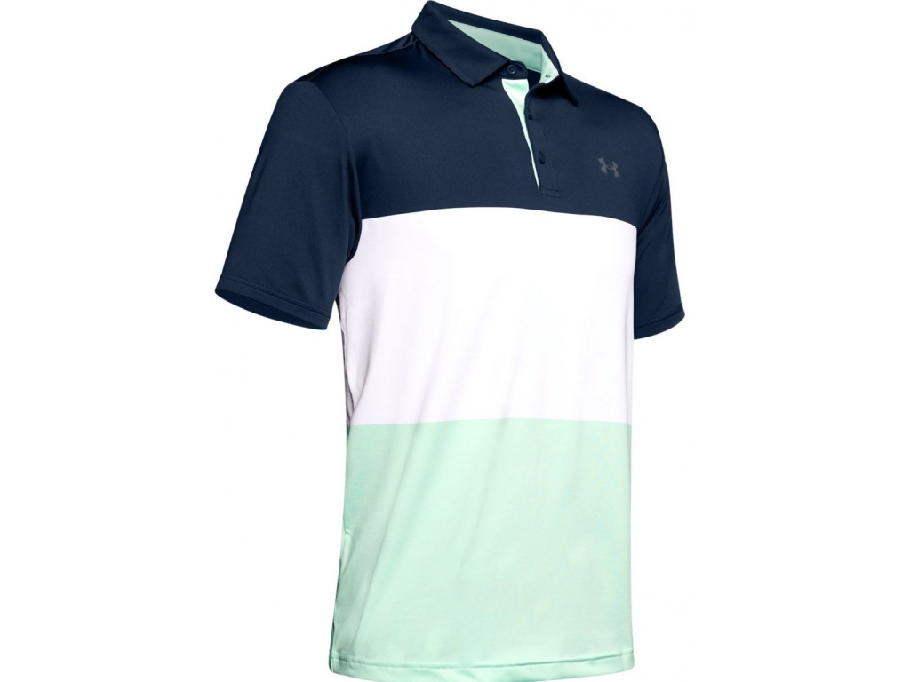 Under Armour Playoff Polo 2 Heritage, Academy, Pitch Gray