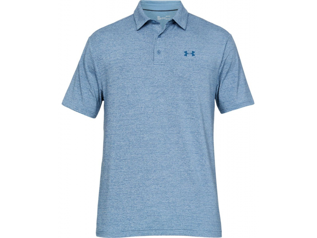 Under Armour Playoff Polo 2 Laser, Thunder, Petrol Blue, Pitch Gray