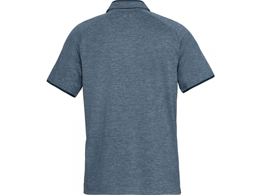 Under Armour Tour Tips Polo, Academy, Pitch Gray