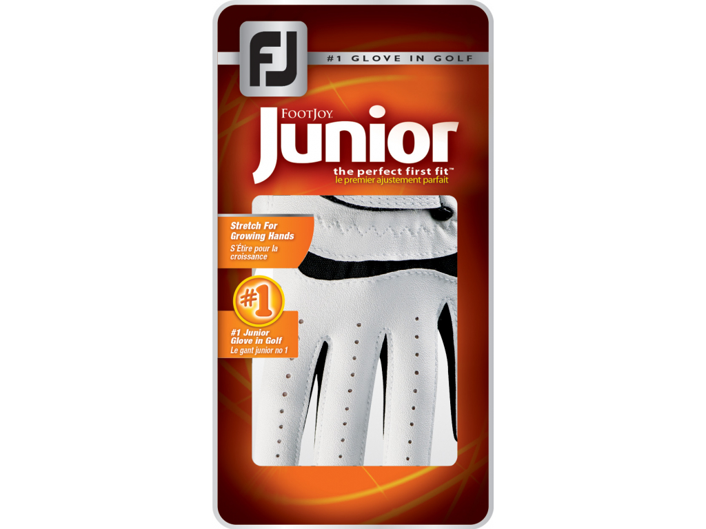 FootJoy Junior, Black, pro juniory, na levou ruku