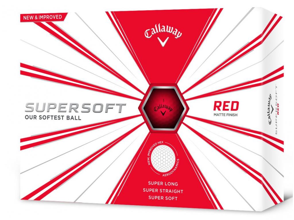 Callaway Super Soft, červené