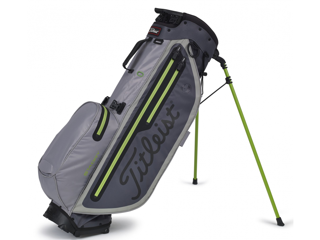 Titleist Players 4 Plus StaDry, Charcoal, Grey, Apple