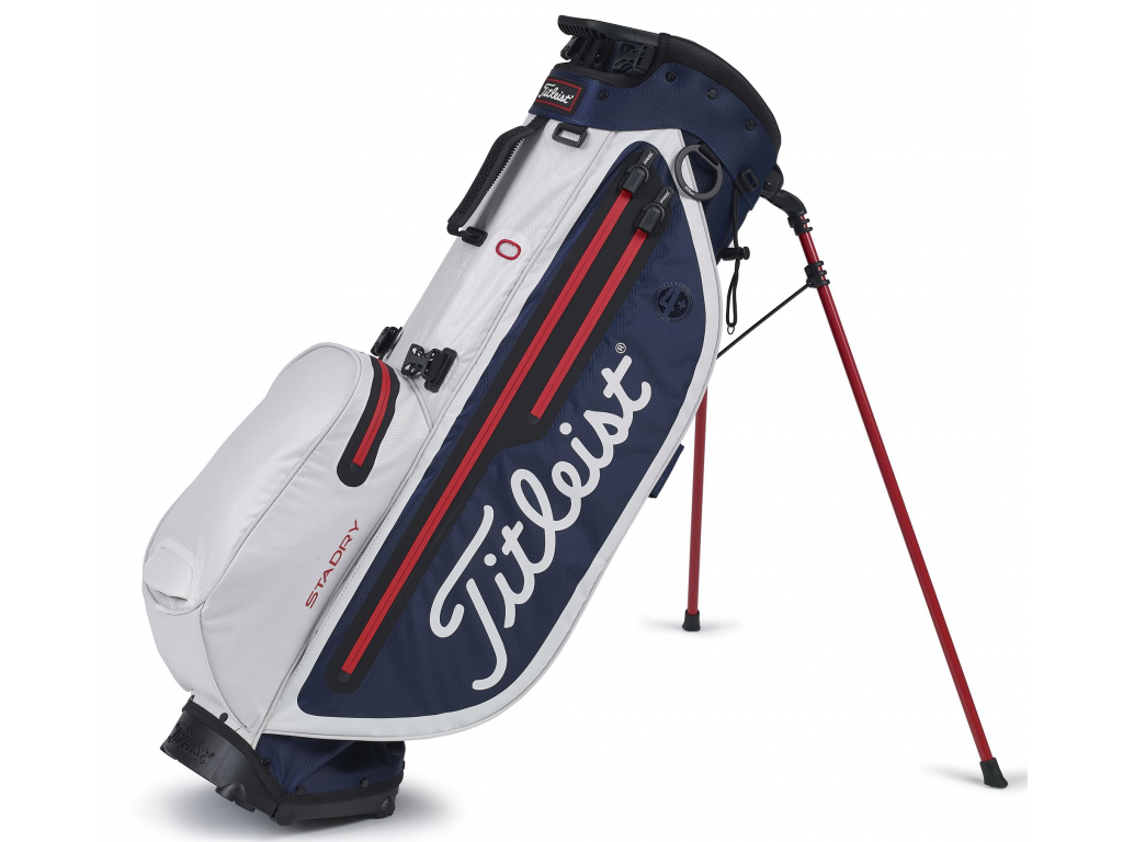 Titleist Players 4 Plus StaDry, Navy, White, Red