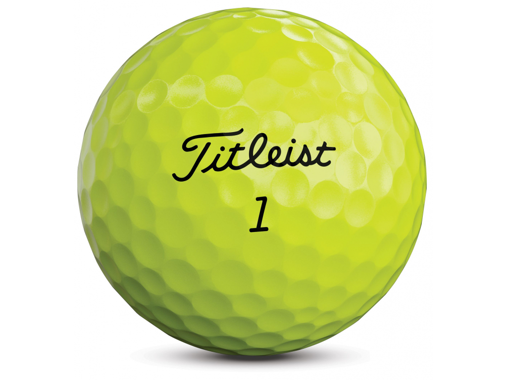 Titleist Tour Soft 2020, žluté