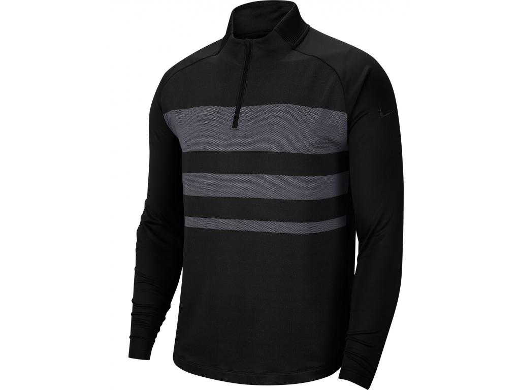 Nike Dry Vapor Top HZ, Black, Dark Grey