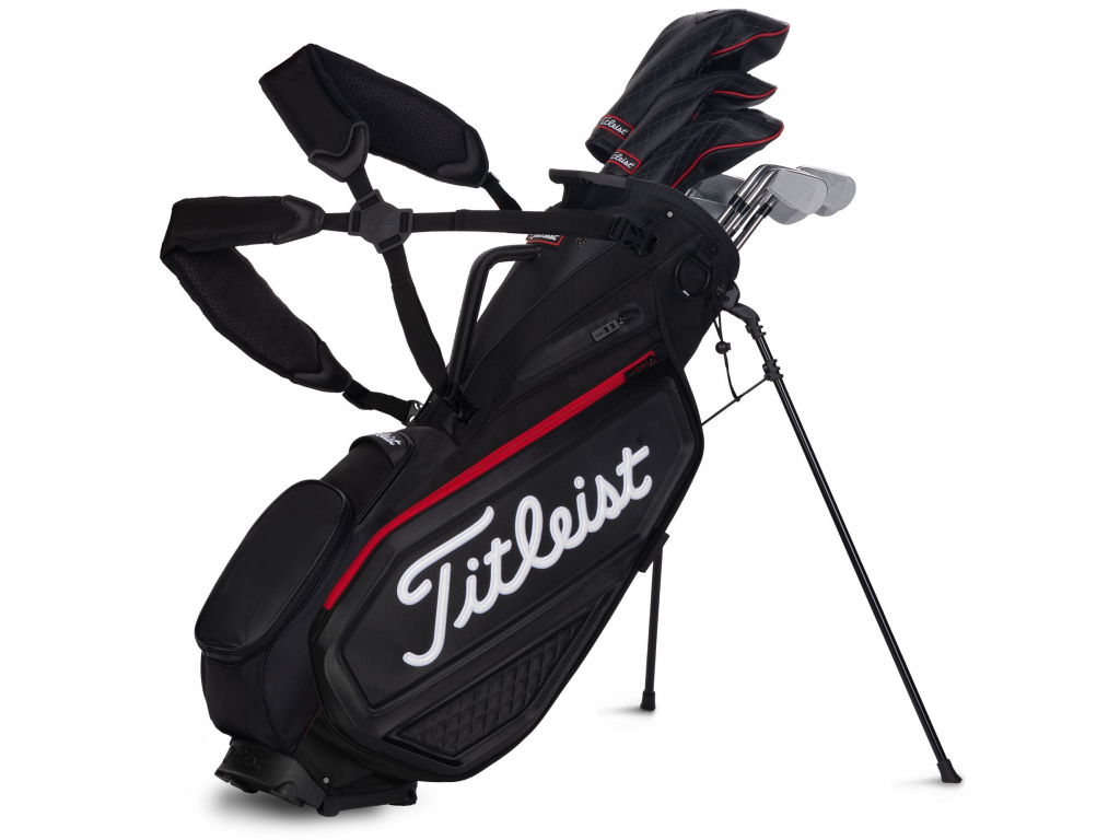 Titleist Jet Black Premium Stand Bag, Black
