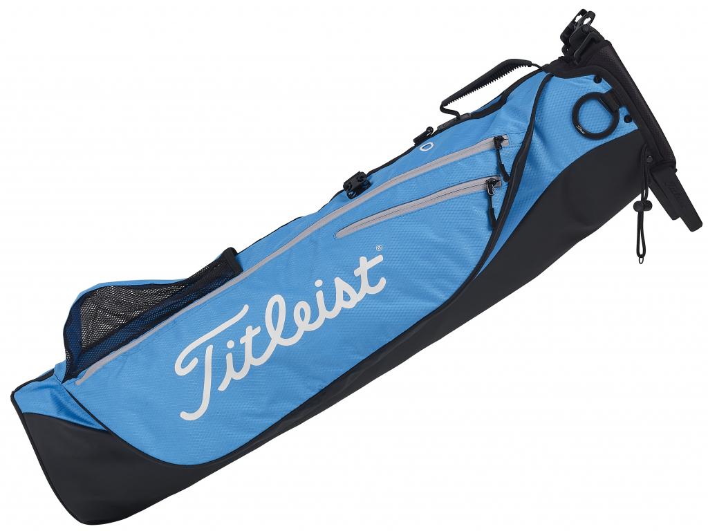 Titleist Premium Carry, Black, Blue, Silver