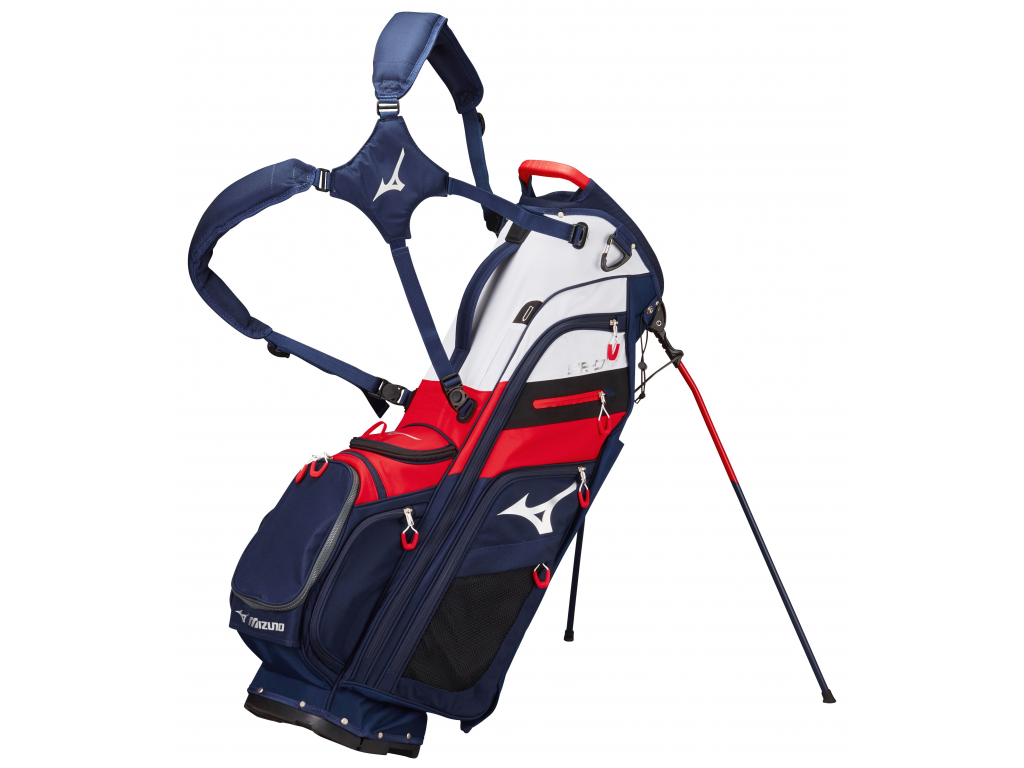Mizuno BR-D4 Stand bag, Navy/Red
