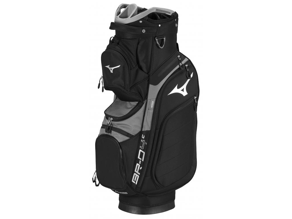 Mizuno BR-D4, Cart Bag, Black