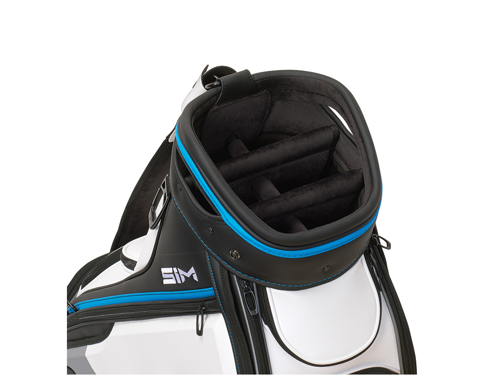TaylorMade Tour Staff, Black, White, Grey, Blue