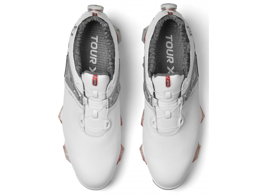 FootJoy Tour X BOA, White, Grey