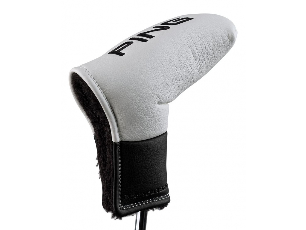 Ping Core Blade Putter Cover, White, Black