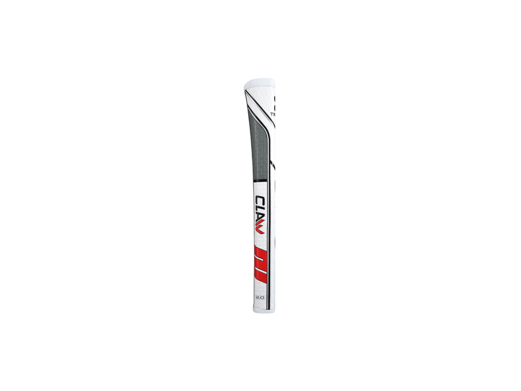 Super Stroke Traxion Claw 2.0, White, Red, Grey