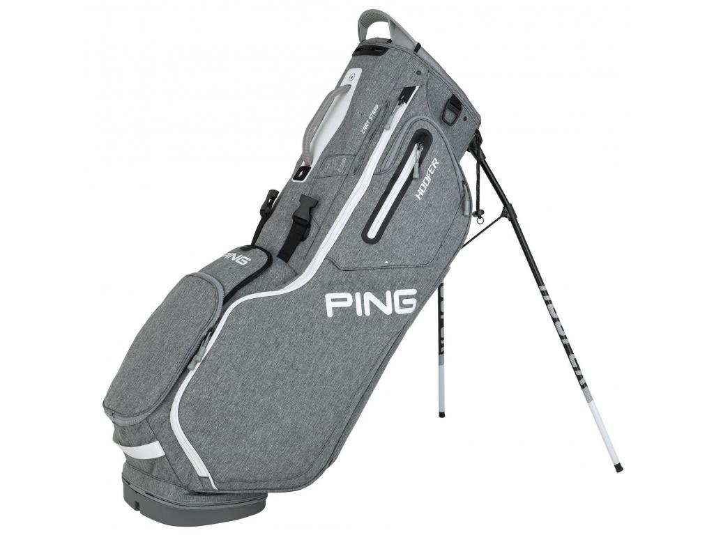 Ping Hoofer, šedý, bílý