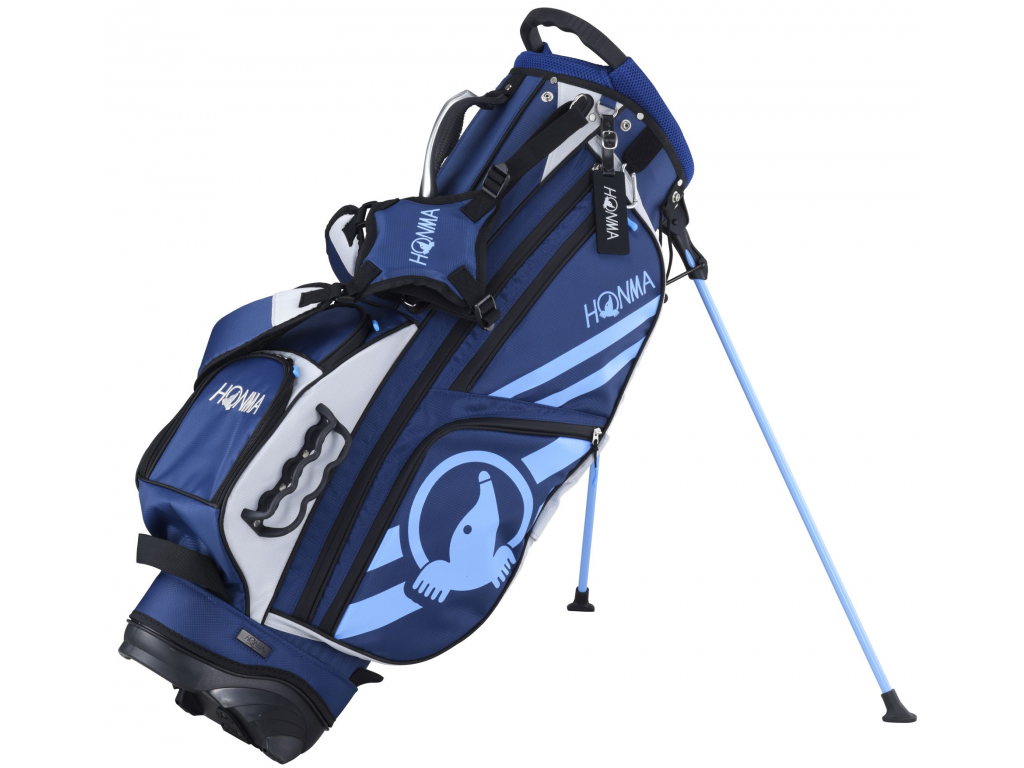Honma Athletic Stand bag, Navy
