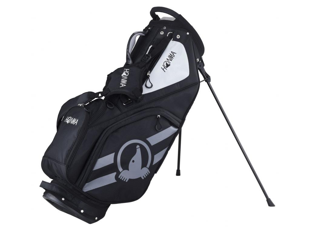 Honma Sport Stand bag, Black, Grey
