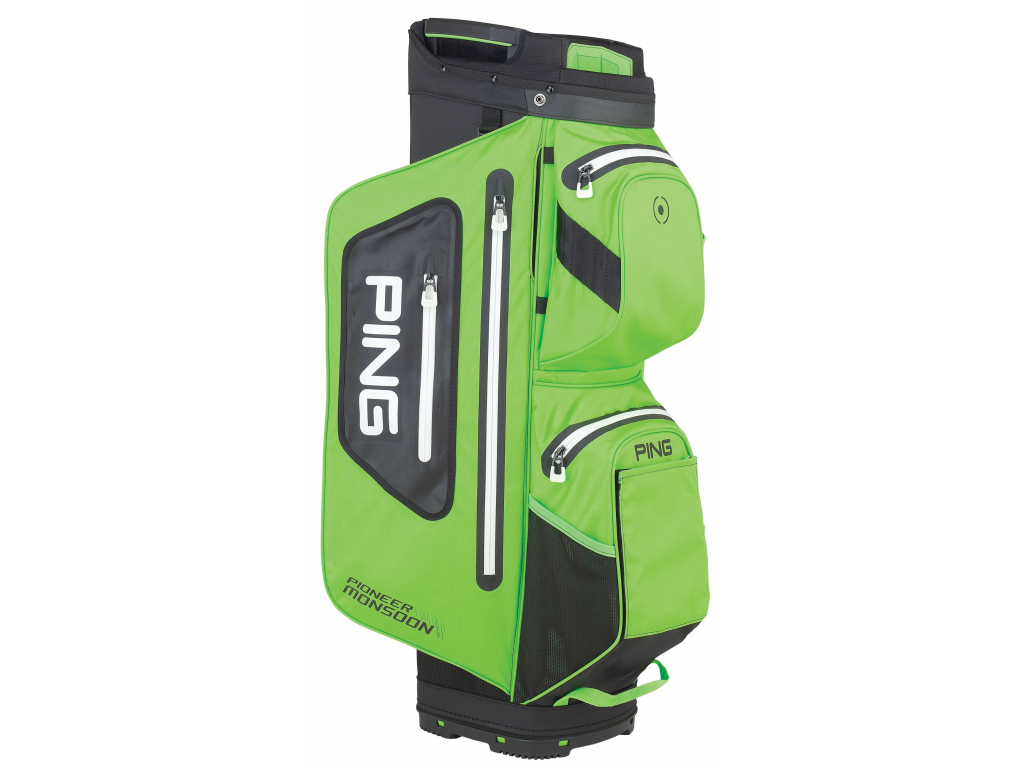 Ping Pioneer Monsoon, Electric Lime Green, Black