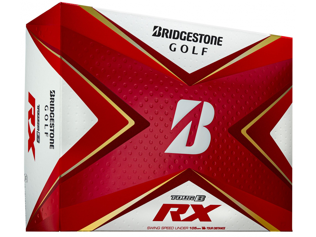 Bridgestone Tour B RX, bílé, 12 míčků