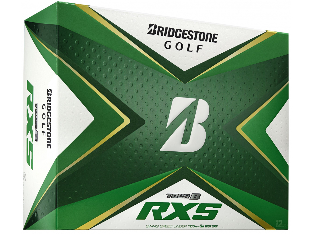 Bridgestone Tour B RXS, bílé    3 golfové míčky