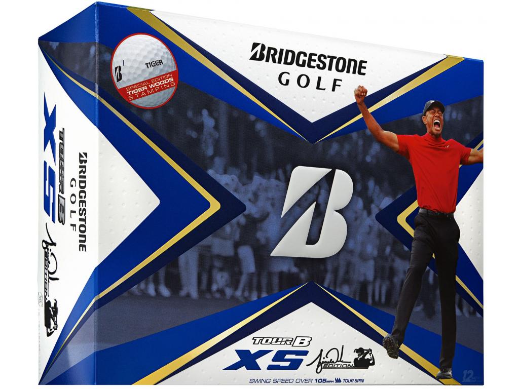 Bridgestone Tour B XS, Tiger Woods Limited, bílé