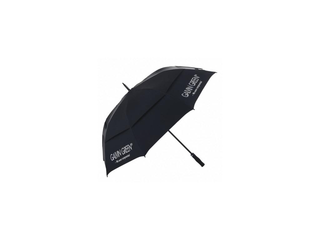 Galvin Green Tromb Golf Umbrella, Black, Silver