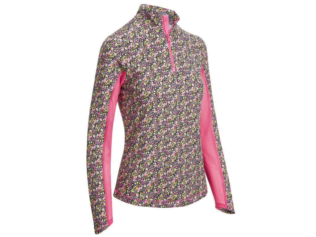Callaway Ditsy Print Top, golfové tričko