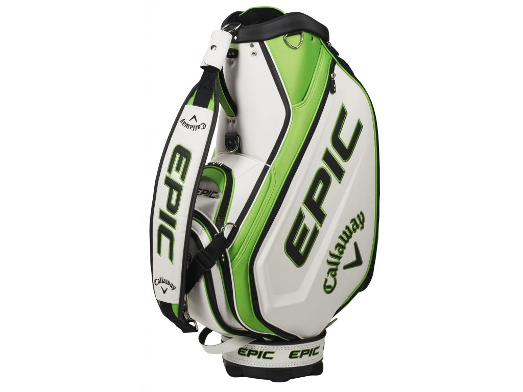 Callaway Epic Staff bag, White, Green, Black