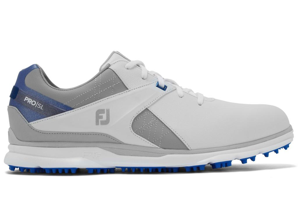 FootJoy Pro SL, White, Grey, Blue