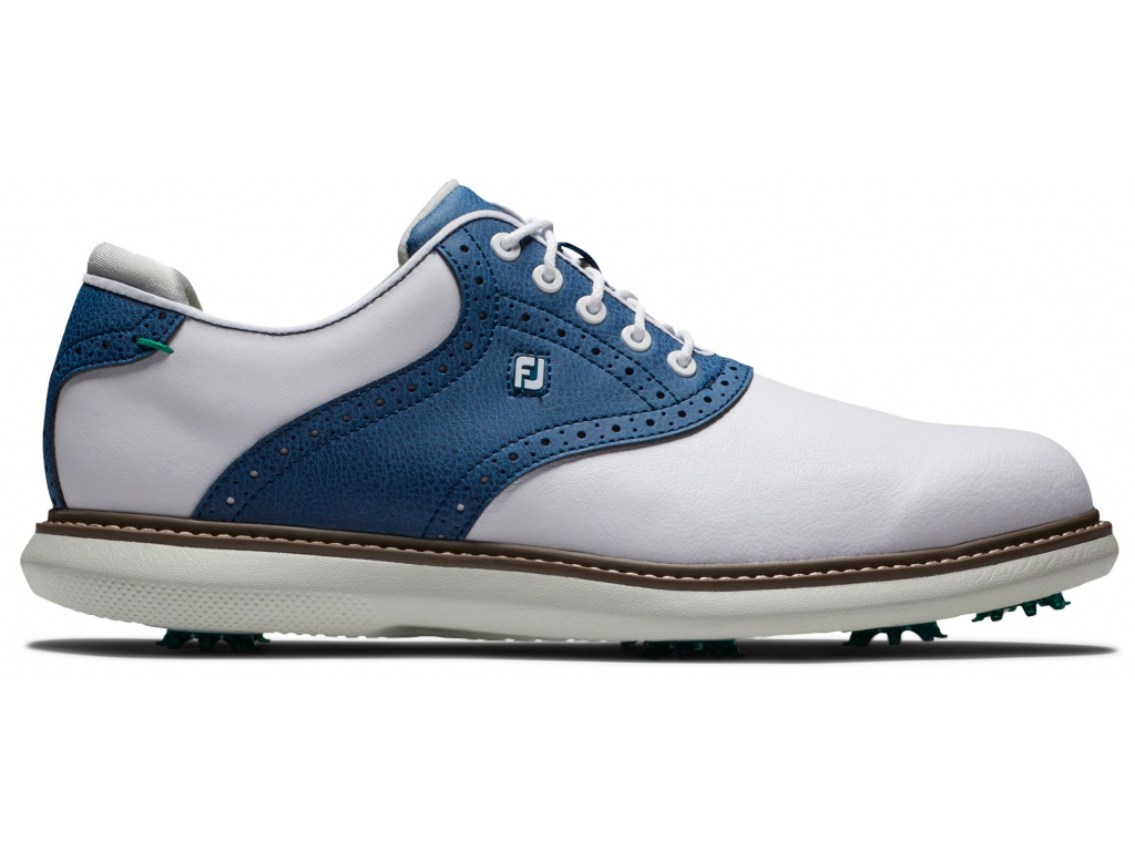 FootJoy Traditions, White, Navy