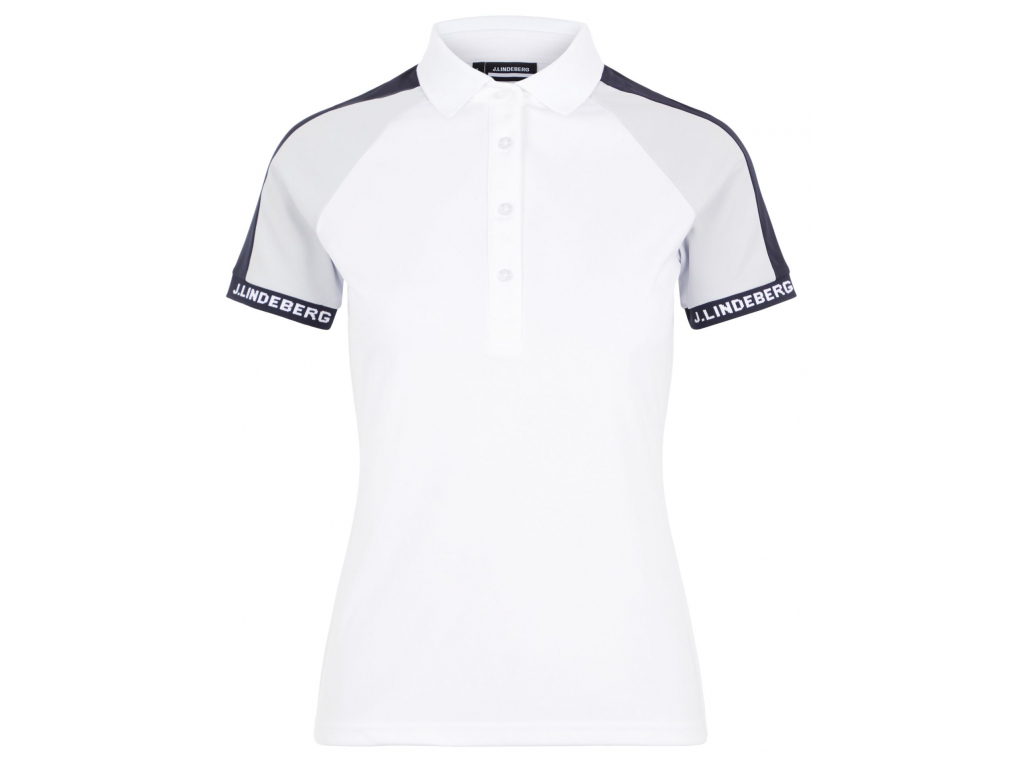 J.Lindeberg Perinne Golf Polo, White