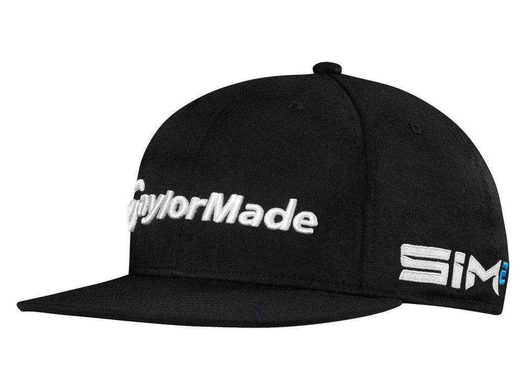 TaylorMade Tour FlatBill, černá kšiltovka