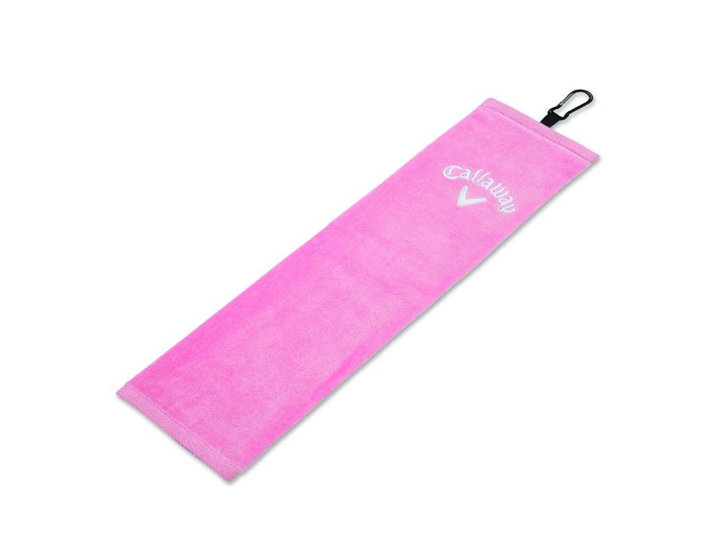 tri fold towel pink 5417009 2017 angled
