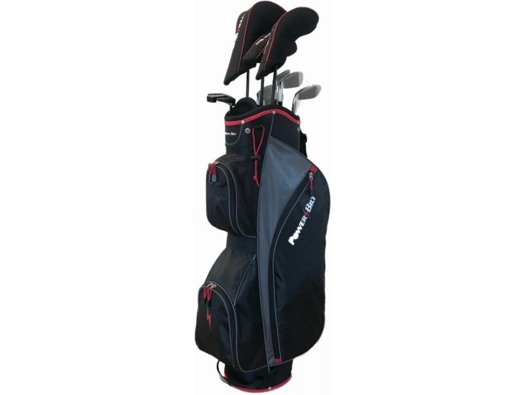 Power Bilt EX 750, kompletní sada golfových holí pro muže    železa s grafitovými shafty