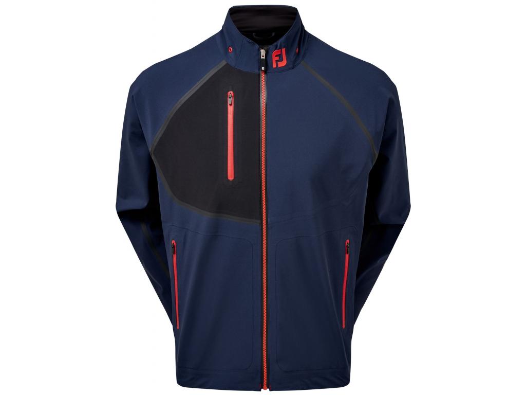 FootJoy HydroTour Jacket, Navy, Black, golfová bunda pro muže