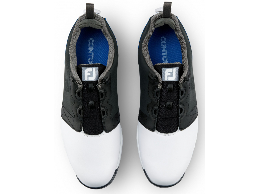 FootJoy Contour Fit Boa, White, Navy