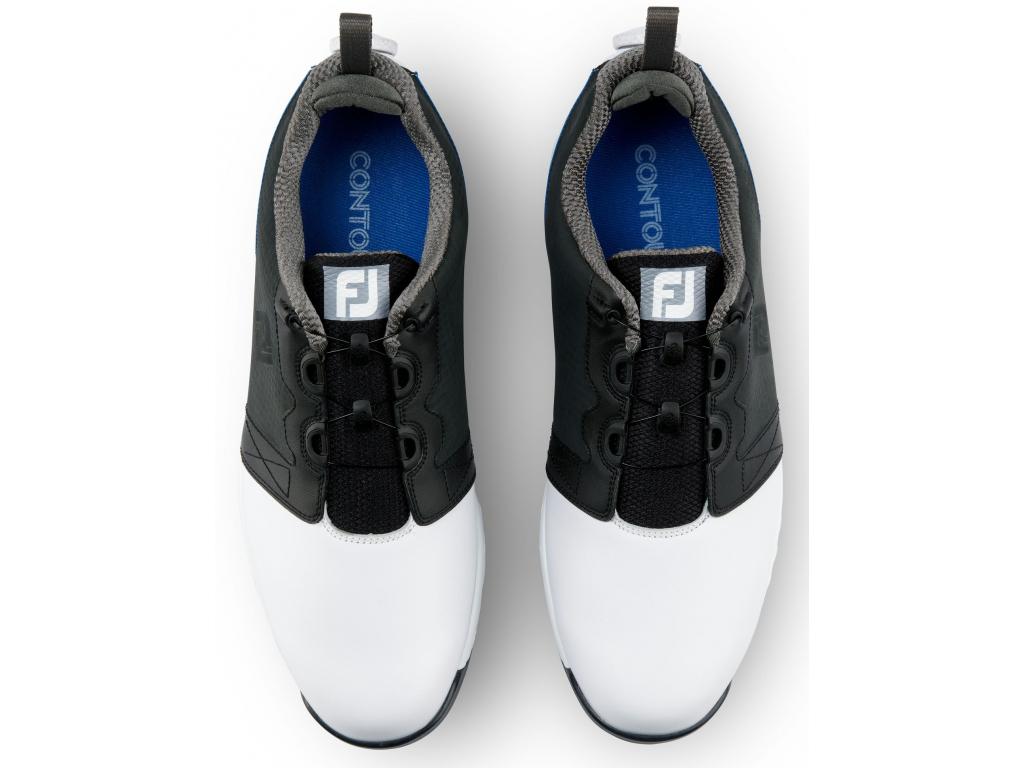FootJoy Contour Fit Boa, White, Navy
