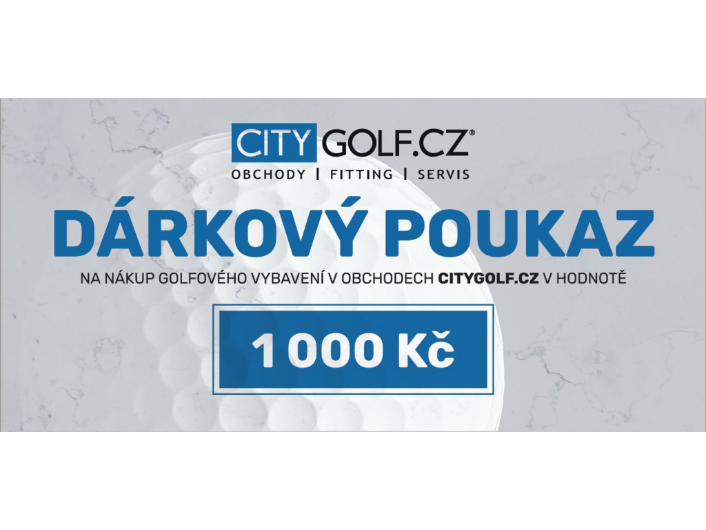 Citygolfcz poukaz 1000