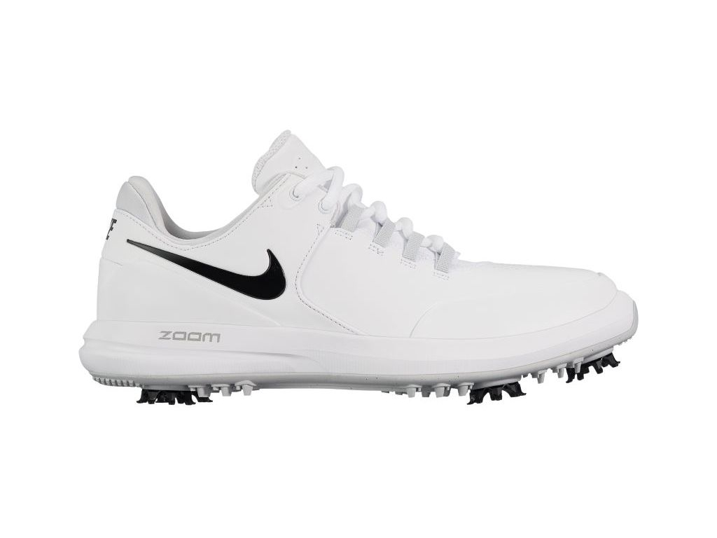 Nike Ladies Air Zoom Accurate, White, Metallic Silver