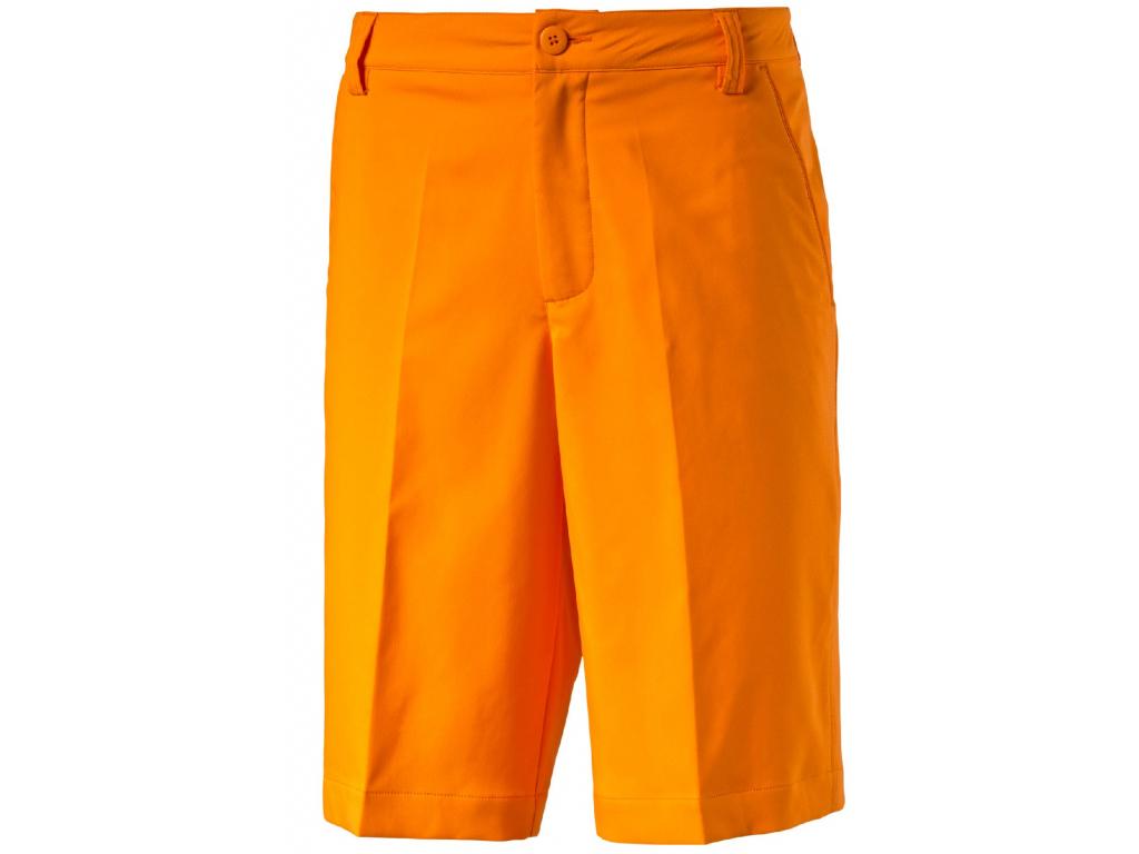 Puma Golf Tech Short, Vibrant Orange