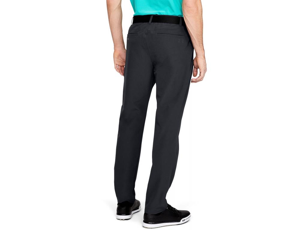 Under Armour Showdown Taper Pant, Černé  Zateplené. Ideální kalhoty na podzimní kola golfu.