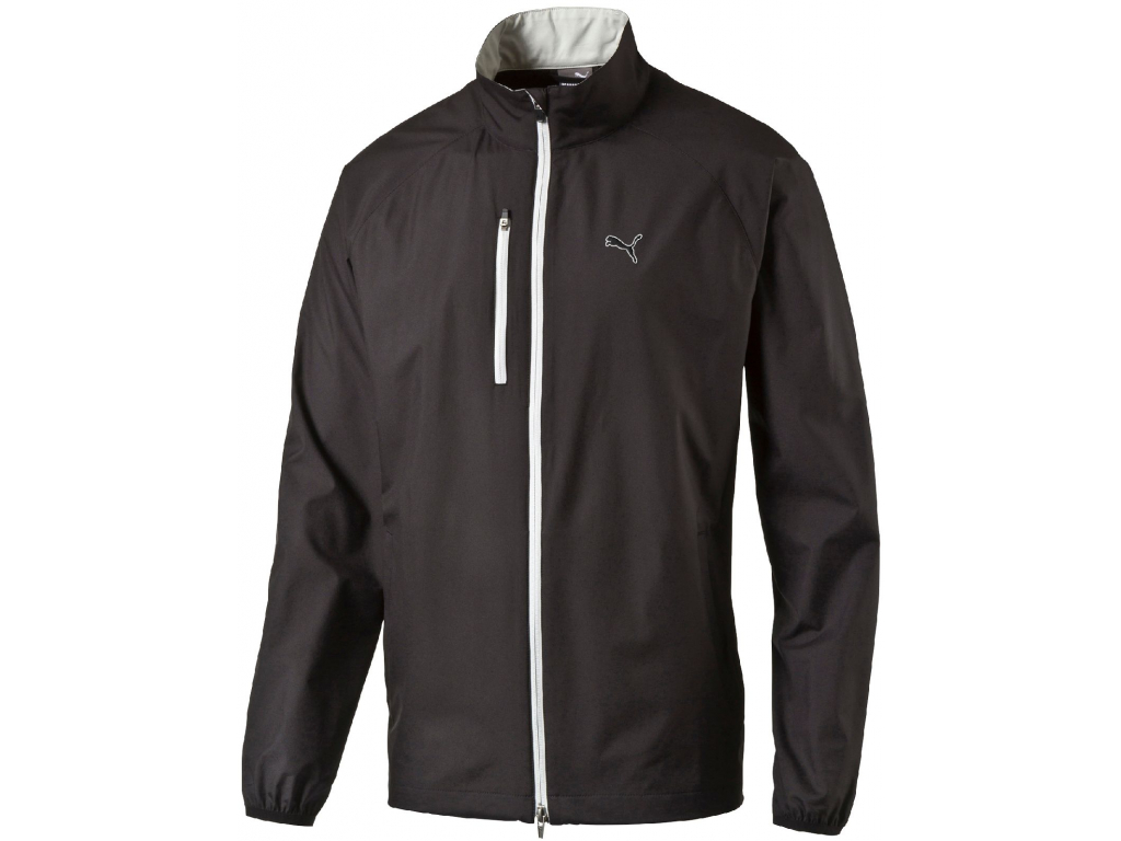 Puma Full Zip Wind Jacket, Black