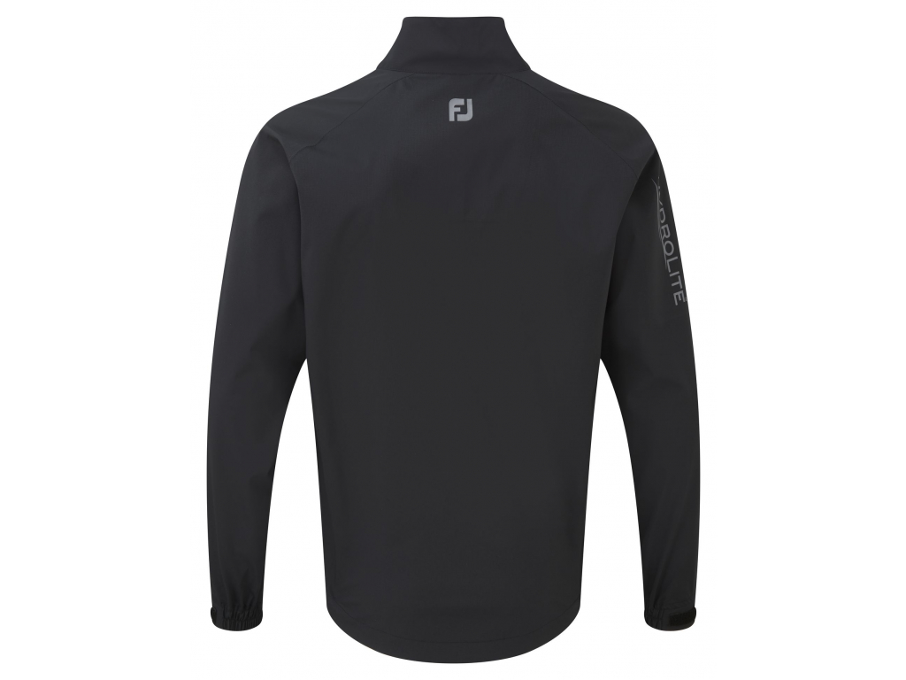 FootJoy Hydrolite Rain Jacket, Black, Charcoal