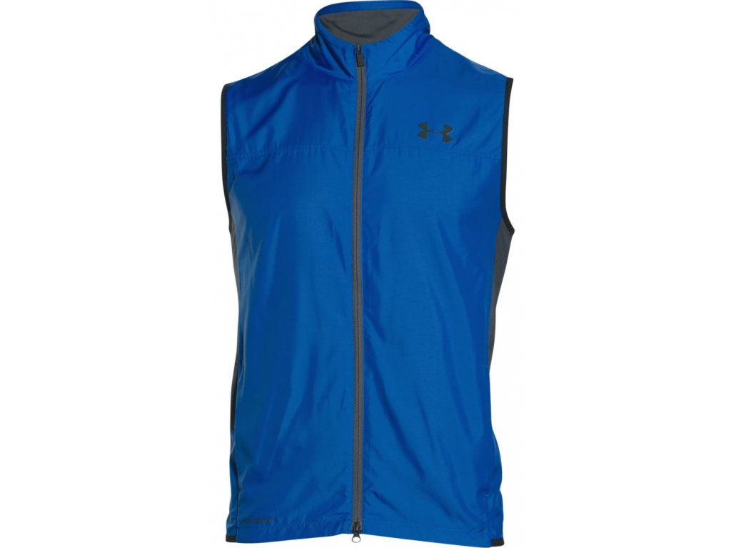 670 under armour groove hybrid vest blue black