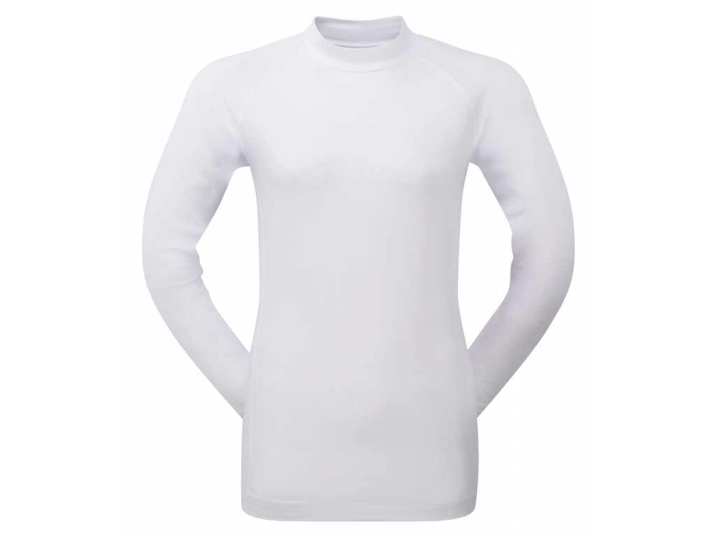 FootJoy Womens Base Layer Crew, White