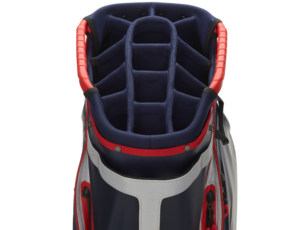 Mizuno BR-Dri WP Cart bag, Navy, Cyan
