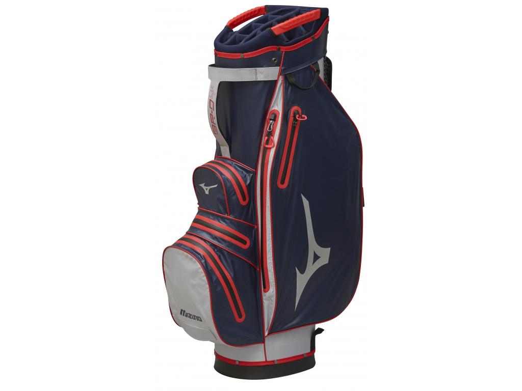 Mizuno BR-Dri WP Cart bag, Navy, Red