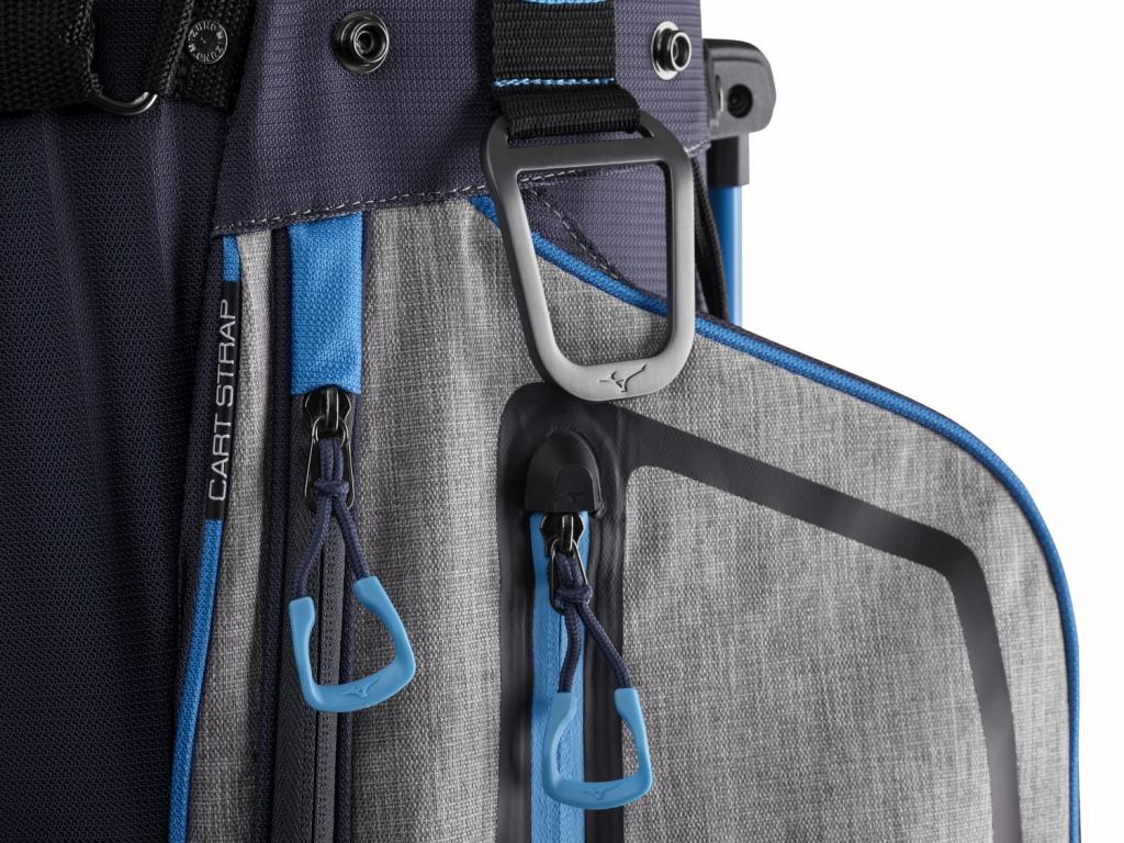 Mizuno BR-D4 Cart bag, Šedý, Modrý