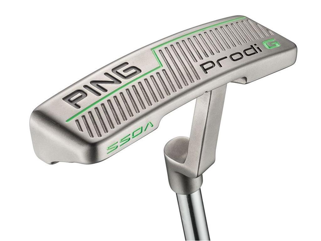 Ping Prodi G Voss Putter, Green, pro juniory  Doporučená výška: 145 cm až 160 cm