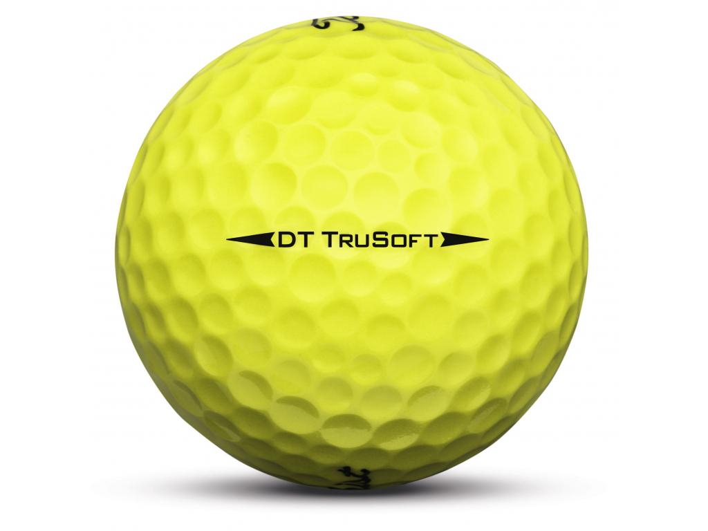 Titleist DT TrueSoft, Yellow, 12 míčků  2019-2020