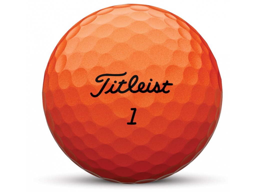 Titleist Velocity, Orange, 12 míčků  2019-2020